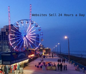 Websites sell 24 hours a day